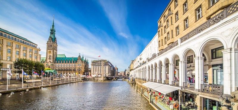 CityGames Hamburg: Firmen Team Pro Tour durch Hamburg
