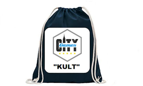 "CityGames Hamburg: JGA Männer Tour - CityGames Backpack ""KULT"""