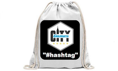 CityGames Hamburg: JGA Frauen Tour - Backpack hastag